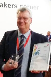 Mike Horsten at Viscom Best Of Award