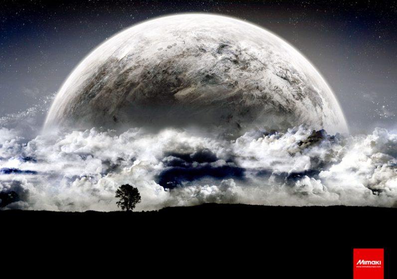 JFX200-2513-EX Plexiglass Moon