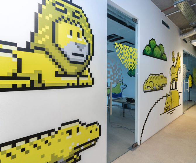 wall application