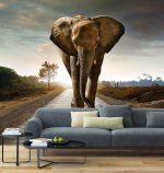 From wallpaper to canvas – wall decoration with JV100-160 image